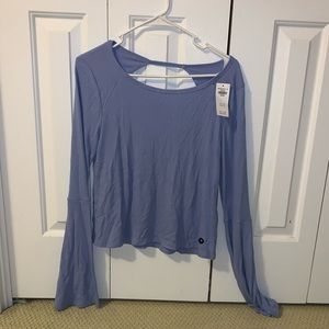 NWT Hollister Periwinkle Long Sleeve